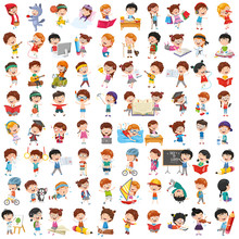 Vector Collection Of Cartoon C...