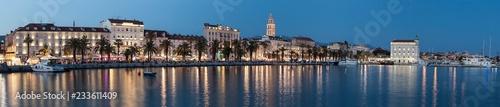 Obraz na płótnie Historyczne centrum miasta w Splicie. To jest dziedzictwo UNESCO. Chorwacja