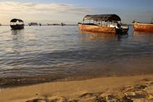 Sansibar Strand Im Abendlicht