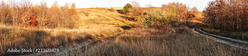 Spoed Foto op Canvas Centraal-Amerika Landen Agricultural autumn landscape in New England, USA