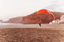 Beach Morocco Green Landing Pa...