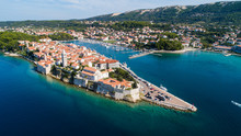 Island Of Rab Old Town In Croatia