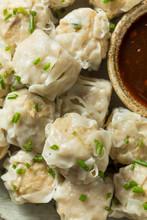 Homemade Pork Shu Mai Dumplings