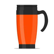 Modern Red Thermo Cup, Travel ...