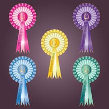 Horse Award Rosettes