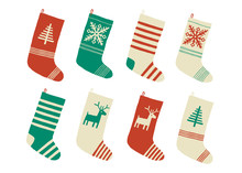 Christmas Stockings. Various T...