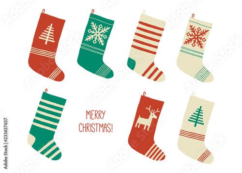 Fotografia, Obraz Holiday Merry Christmas card