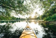 Kayaking Around Toronto Island