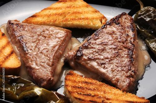 Sandwich vlees Carne Sendvič mäso de Mięso tip