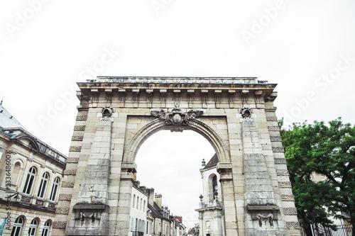 Tablou Canvas Porte d'entrée Beaune, France