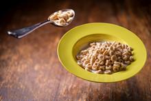 Breakfast Oat Cereal Rings