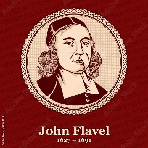 John Flavel (1627 – 1691) was an English Presbyterian clergyman, puritan, and author Canvas Print