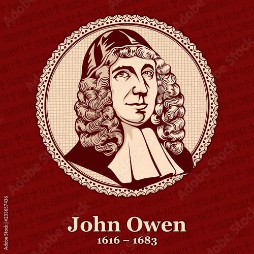 Obraz na plátně John Owen (1616 – 1683) was an English Nonconformist church leader, theologian, and academic administrator at the University of Oxford