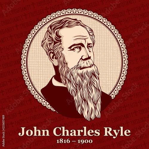 Obraz na plátně John Charles Ryle (1816 – 1900) was an English Evangelical Anglican bishop