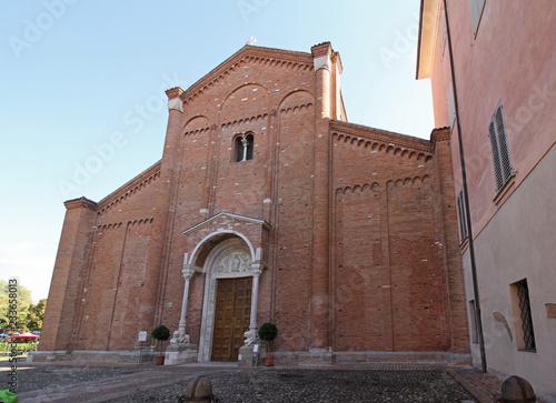 abbazia di Nonantola; la facciata Wallpaper Mural