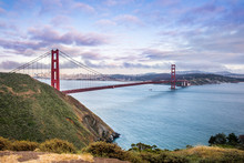 Panoramic View Of Golden Gate ...