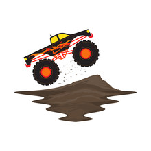 Monster Truck Off Road With Fi...