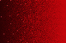 Banner Red Sequins Background Mosaic Or Sequins.