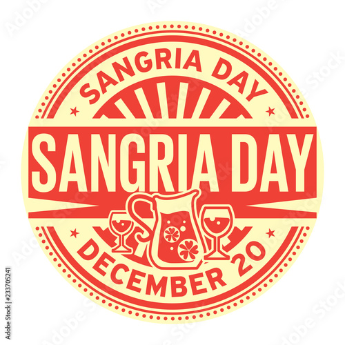 Fotomural Sangria Day, December 20