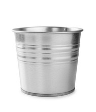 Metal Bucket Isolated