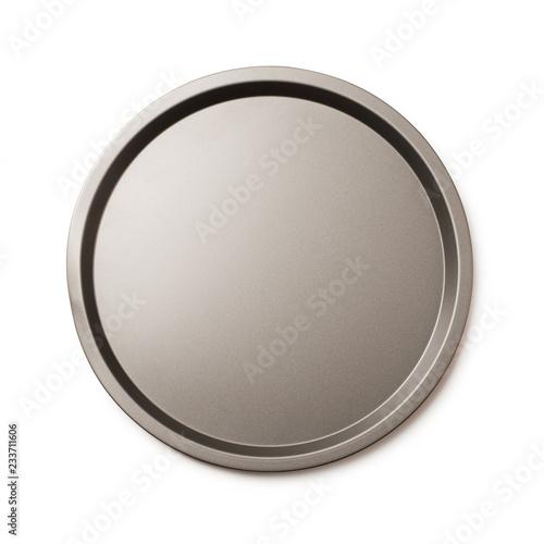 Round empty baking tin
