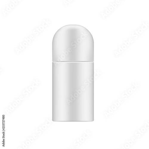 Body antiperspirant deodorant cosmetic container, realistic mockup Canvas Print