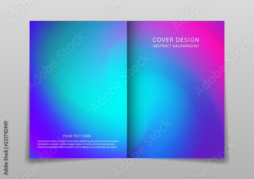 Fototapety, obrazy: Cover design with geometric pattern,vector template brochures, flyers, presentations, leaflet, magazine.