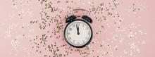 New Year Concept. Alarm Clock ...