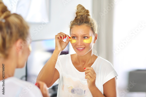 Fotografia Under Eye Masks For Puffiness, Lines, Dark Circles.Eye patches.