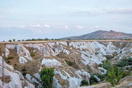 Spoed Foto op Canvas Cappuccino landscape of Pigeon Valley in Cappadocia