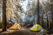 Camping In Yosemite National P...
