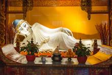 Statue Of Reclining Buddha In ...