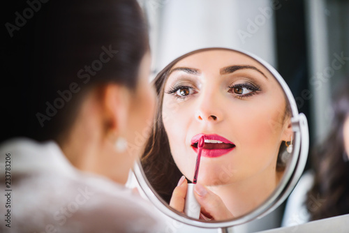 Cuadros en Lienzo Bride that the makeup