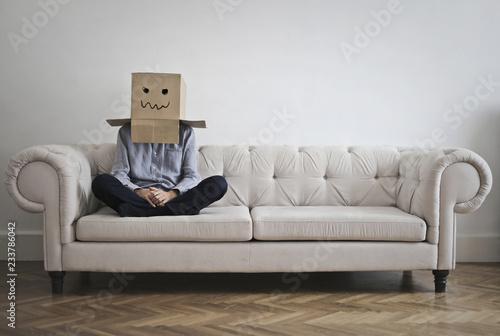 Fotomural A little bit shy
