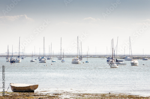 Photo boats of west mersea