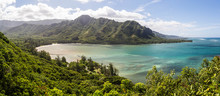 Sicht Vom Crouching Lion, East Coast Oahu, Hawaii
