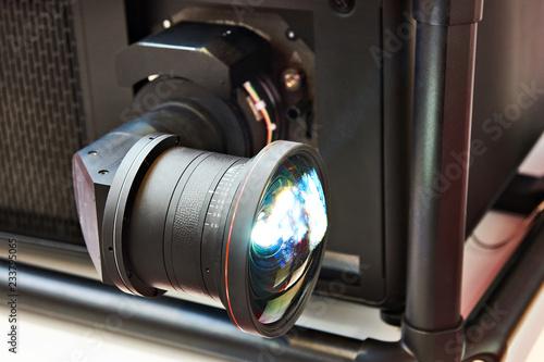 Professional projector lens