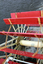 The Big Paddle Wheel From A St...
