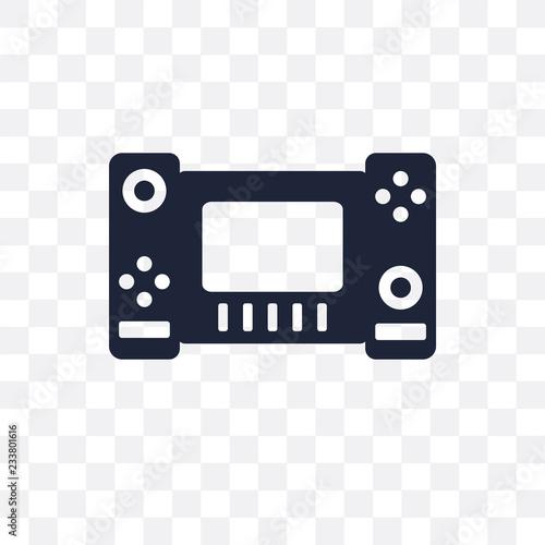 Nintendo switch transparent icon Canvas Print