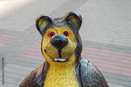 Photo  Bear sculpture