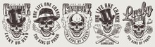 Vintage Gambling Labels Set