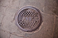 Water Manhole Cover In New Orl...