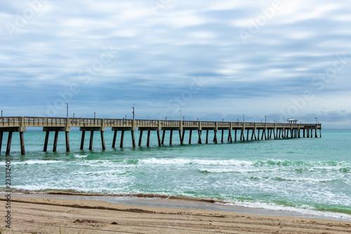Fishing Pier At Dania Beach Florida Usa Buy This Stock Photo And