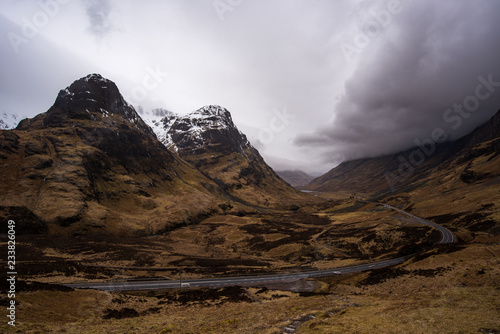 Foto op Aluminium Chocoladebruin Hiking in the Isle of Skye, Scotland