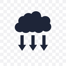 Precipitation Transparent Icon...