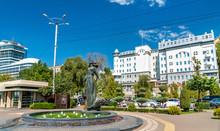 Rostovite Girl Fountain In Ros...