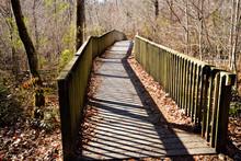 Nature Trail Foot Bridge At Un...