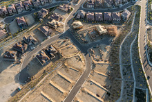 Aerial View Of New Streets, Ho...