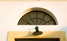 Home Porch Light At The Entran...