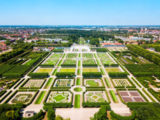 Herrenhausen Gardens in Hannover, Germany